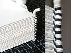 Bookbinding 101: Headbands Tutorial My headbands never look this tidy :(