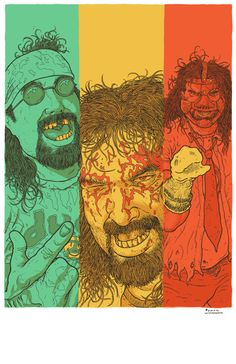 New Cool Meat, Mick Foley will be at StocktonCon this Sunday. Wrestling Posters, Wrestling Wwe, Attitude Era, Rick And Morty Poster, Mick Foley, Eddie Guerrero, Apocalyptic Fashion, Kevin Owens, Wwe Wallpapers