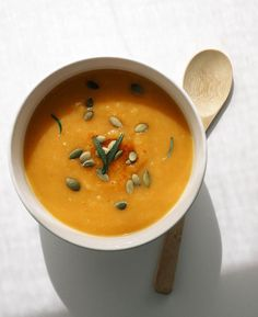 I'm a little embarrassed to say, but this is my first time ever having butternut squash soup. I've been missing out on something wonderful all these years. This soup is truly amazing with its simple flavors. The sweetness of the roasted squash is the center piece with a light hint of garlic and shallot. I...Read More »