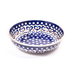 Noodle bowl from our Polish pottery range by Fancy Home