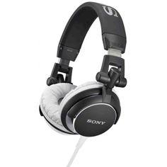 Sony MDR-V55 DJ Stereo Headphones – Black ccc780687c94