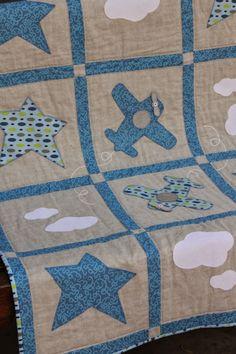 """TELA   MARINERA"", patchwork ...: Manta infantil patchwork..."