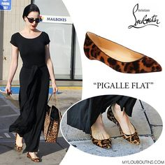 Love Louboutin Pigalle Flats and in leopard... they are purrrr-fect