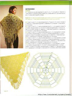 Delicadezas en crochet Gabriela: Mantones en crochet