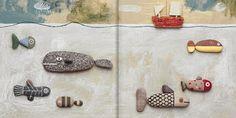 ARTE PARA NIÑOS: piedras que dejan huellas (Isidro Ferrer). | RZ100 Cuentos de boca