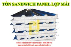 Tôn sandwich Panel EPS lợp mái