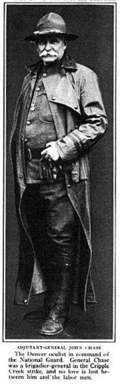 General John Chase of the Colorado National Guard