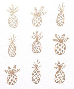 ~ Golden pineapples ~