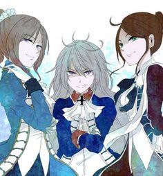 Hetalia  ~ Bad Touch Trio Genderbending