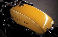 Harley Davidson XLH Sportster ~ Return of the Cafe Racers