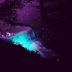 #amural #day1 #dupaziduri #mural #art #light #september #night #colour #withfriends #watercolor #water #brasov #ig_brasov #artoftheday #2016 #waterfall #ig_romania #festival #gif #animation #bumerang