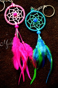 Customized Dreamcatchers by Mystic (Anusha Bhadauria). Contact us to place an…