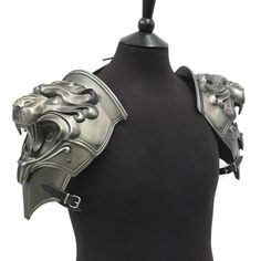 Larp Armour Lion Head pauldrons