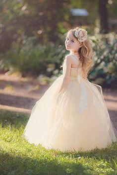 Aliexpress.com: Comprar Marfil niña De las flores vestidos para bodas 2015 nuevos De moda Flowergirl Dress Vestido De Dama De Honra De criança Comunion de las niñas vestido estampado de leopardo fiable proveedores en Bright Fashion