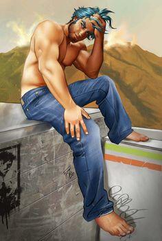 two stars, Four Feathers by elGuaricho on DeviantArt Gay, Cartoon Boy, Art Of Man, Rainbow Art, Deviantart, Stars, Illustration, Artwork, Pictures