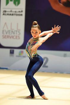 1st INTERNATIONAL EMIRATES CUP 2017 Gymnastics Flexibility, Gymnastics Leos, Gymnastics Outfits, Artistic Gymnastics, Rhythmic Gymnastics Leotards, Custom Leotards, Blue Tights, Gymnastics Photography, Preteen Girls Fashion