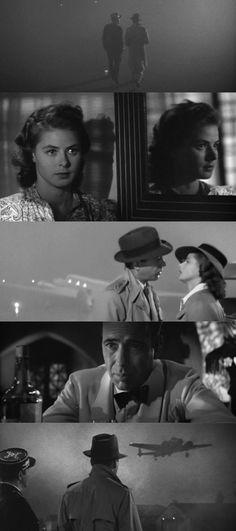 Casablanca (1942), d. Michael Curtiz, d.p. Arthur Edeson