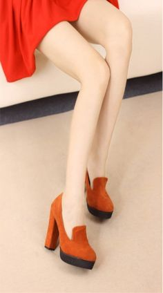 Autumn Sweety Waterproof Pump Built in Rough Heel on BuyTrends.com, only price $24.17