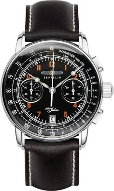 Zeppelin Watch 100 Years Zeppelin #best-seller-yes #bezel-fixed #bracelet-strap-leather #brand-zeppelin #case-material-steel #case-width-42mm #chronograph-yes #classic #date-yes #delivery-timescale-call-us #dial-colour-black #gender-mens #movement-quartz-battery #official-stockist-for-zeppelin-watches #packaging-zeppelin-watch-packaging #style-sports #subcat-100-years-zeppelin #supplier-model-no-7674-2 #warranty-zeppelin-official-2-year-guarantee #water-resistant-50m