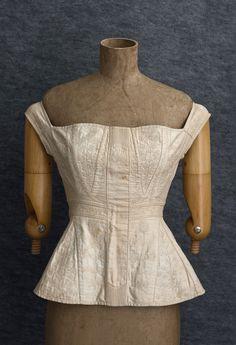 1820s wedding corset
