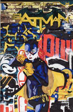 Batgirl of Burnside by Sean Anderson Dc Batgirl, Batwoman, Batgirl Of Burnside, Bryan Hitch, Comic Art, Comic Books, Cassandra Cain, Stephanie Brown, Gotham Girls