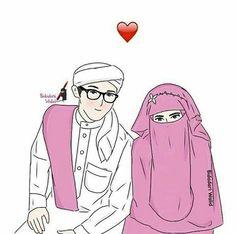 Ya Allah Pertemukanlahnaku Dengan Jodoh Ku Agar Dpt Membimbingku Ke Arah Mu Muslim CouplesMuslim FamilyAnime MuslimahLove