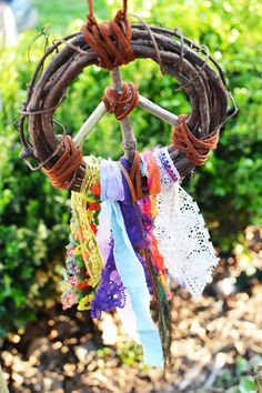 Peace Dream catcher by Run2theWild on Etsy, $25.00