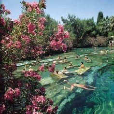 @reformation instagram. Is this taken in Pamukkale's pools, Turkey?