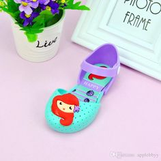 Melissa Jelly Shoes Mermaid Korean Version Of The Lovely Princess Shoes  Wholesale 3a5501bdbc79