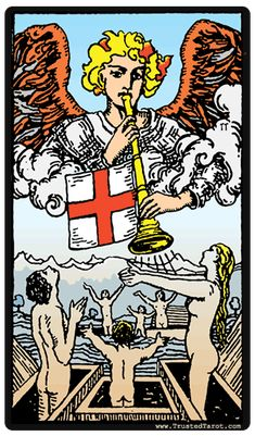 Judgement Change · Decisions · Success · Transformation · Upheaval    Judgement Tarot card  Judgment tells a story of transition, but unlike Death or the Tower, it is not sudden change, or born of luck or intuition, but change that springs from reason. It signifies plans, often long in the making, coming to fruition. If it points towards the future, it may also speak towards the nature of the change; if there is a choice that needs to be made, ruminate and let your mind guide the decision…