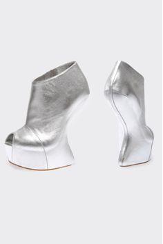 silver #shoes #Zanotti