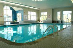 Indoor swimming at it's best Indoor Swimming, Ontario, Community, Outdoor Decor, Blue, Home Decor, Decoration Home, Room Decor, Interior Decorating