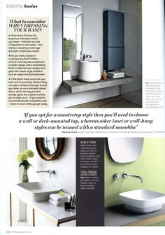 Beautiful bathroom available from Alternative Bathrooms  Essential Kitchen  Bathroom Bedroom November 2016The incredible Inipi B dry sauna  by Duravit is also available  . Essential Kitchen And Bathroom Business Magazine. Home Design Ideas