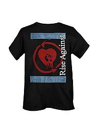 HOTTOPIC.COM - Rise Against Wall Post Slim-Fit T-Shirt