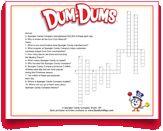 #Free #kids #crosswords from the makers of #DumDums. Download more kid-friendly printable activities at DumDumPops.com! Coloring Pages, Activities For Kids, Printables, Free, Quote Coloring Pages, Children Activities, Print Templates, Kids Coloring, Kid Activities