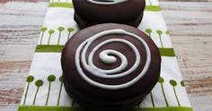 Resultado de imagen para alfajores de chocolate