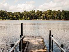 Lake, Dock, State Park, Water, Nature