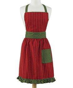 Take a look at this Park Designs Home for the Holidays Apron - Women on zulily today!