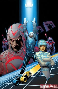 Comicpalooza Blog: First Look At Tron Original Movie Comic Adaption