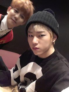 Zico with Kyung photo bombing