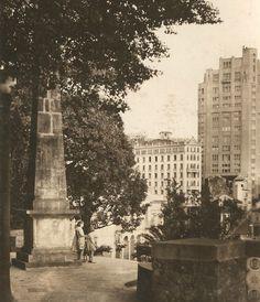 Obelisco do Piques, 1935