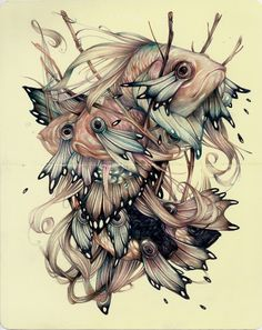 Preview: Lindsey Carr and Marco Mazzoni at Roq La Rue | Hi-Fructose Magazine