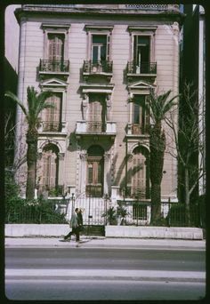 Kai, Old Greek, Athens Greece, Neoclassical, Vintage Photos, The Past, Home And Garden, Deco, History