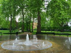 Russell Square (park near the British Museum) - London, England