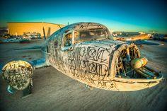 Graffiti artists vs boneyard planes