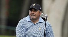 Angel Cabrera during the 2013 Presidents Cup.