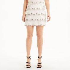 Women | Mini | Jadira Embellished Skirt | Club Monaco