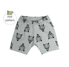 Baby shorts sewing pattern, Basic shorts pattern, pdf sewing pattern, baby bloomers pattern, Baby sewing pattern at Makerist - Image 1 Baby Bloomers Pattern, Easy Sewing Patterns, Baby Patterns, Baby Shorts, Sewing Shorts, Baby Sewing, Couture, 6 Years, Patterned Shorts
