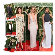"""""""British Fashion Awards 2015..."""" by nfabjoy ❤ liked on Polyvore featuring Victoria Beckham, RedCarpet and bfa"""