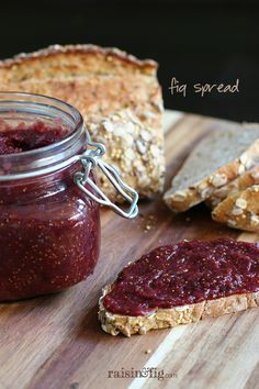 Making your own delicious Fig Spread couldn't be easier. Take advantage of fresh figs available now in your grocery store - and even Costco!